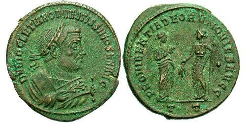 1 Follis Roman Empire (27BC-395) Bronze Diocletian (244-311)