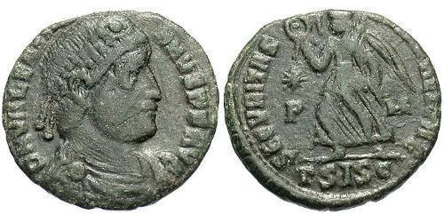 1 Follis / 1 AE3 Roman Empire (27BC-395) Bronze Valentinian I  (321-375)