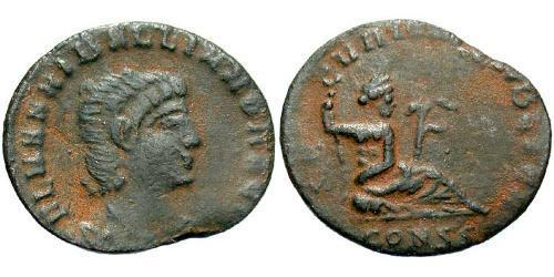 1 Follis / 1 AE3 Roman Empire (27BC-395) Bronze Hanniballianus (315-337)