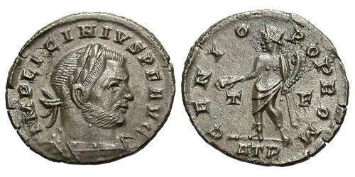 1 Follis / 1 AE3 Roman Empire (27BC-395) Bronze Licinius I (265-324)