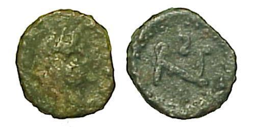 1 Follis / 1 AE4 Byzantine Empire (330-1453) Bronze Flavius Zeno (425- 491)