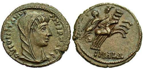 1 Follis / 1 AE4 Roman Empire (27BC-395) Bronze Constantine I (272 - 337)