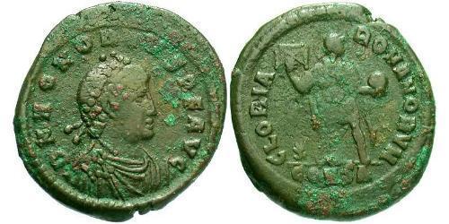 1 Follis /  AE2 Western Roman Empire (285-476) Bronze Honorius  (384-423)