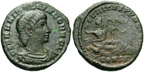 1 Follis /  AE3 Roman Empire (27BC-395) Bronze Hannibalianus (?-337)