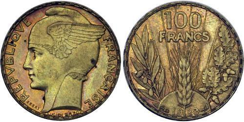 1 Franc French Third Republic (1870-1940)  Bronze