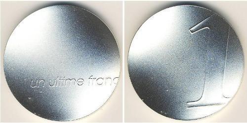 1 Franc Fünfte Französische Republik (1958 - ) Silber