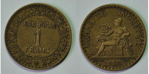 1 Franc 法兰西第三共和国 (1870 - 1940)
