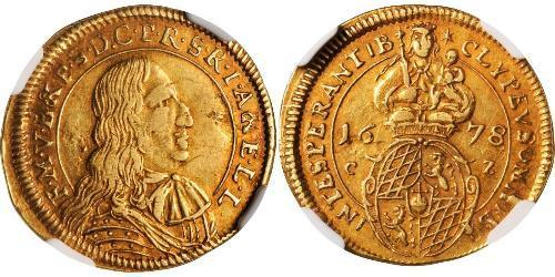 1 Goldgulden Electorate of Bavaria (1623 - 1806) Gold Ferdinand Maria, Elector of Bavaria (1636 – 1679)