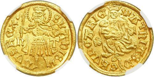 1 Goldgulden Königreich Ungarn (1000-1918) Gold Matthias Corvinus of Hungary  (1443 -1490)