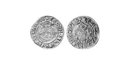 1 Groschen Principality of Anhalt-Zerbst (1544 - 1796) Silver
