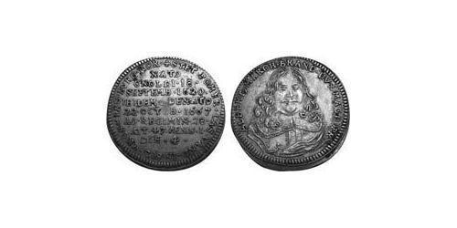 1 Groschen Principality of Ansbach (1398–1792) Silver