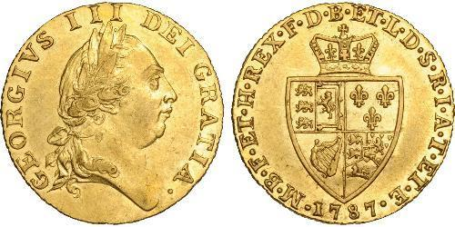 1 Guinea Kingdom of Great Britain (1707-1801) Gold George III (1738-1820)
