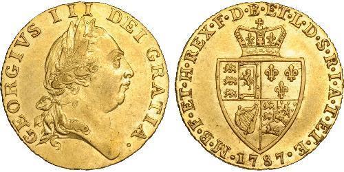 1 Guinea Reino de Gran Bretaña (1707-1801) Oro Jorge III (1738-1820)