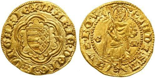 1 Gulden Kingdom of Hungary (1000-1918) Gold Mary of Hungary (1371-1395)