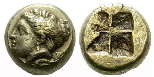 1 Hekte Ancient Greece (1100BC-330) Electrum