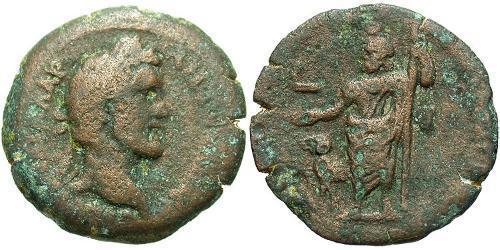 1 Hemidrachm Roman Empire (27BC-395) Bronze Antoninus Pius  (86-161)