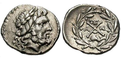 1 Hemidrachm Ancient Greece (1100BC-330) Silver