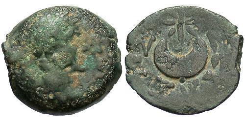 1 Hemiobol Roman Empire (27BC-395) Bronze Augustus (63BC- 14)