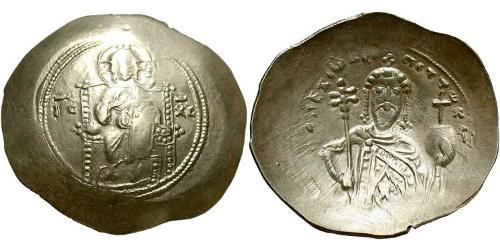 1 Histamenon Byzantine Empire (330-1453) Electrum  Alexius I Comnenus (1056- 1118)