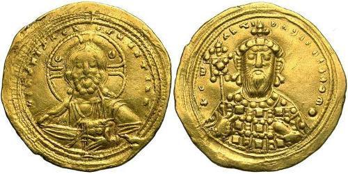 1 Histamenon Byzantine Empire (330-1453) Gold Constantine VIII (960-1028)