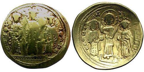 1 Histamenon Byzantine Empire (330-1453) Gold Romanos IV Diogenes (1030-1072)