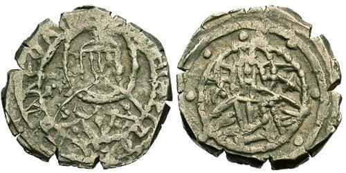 1 Hyperpyron Byzantine Empire (330-1453) Silver John VIII Palaiologos (1392-1448)