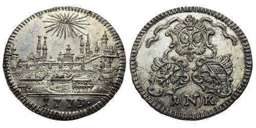 1 Kreuzer Germany Billon