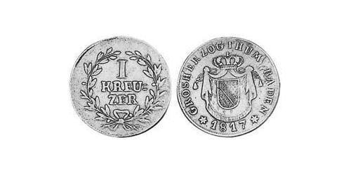 1 Kreuzer Grand Duchy of Baden (1806-1918) Copper