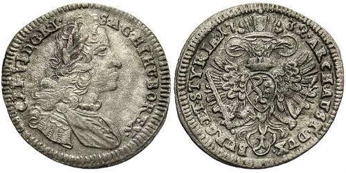 1 Kreuzer Austria  Silver