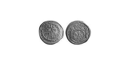 1 Kreuzer Margrave of Baden-Durlach (1535 - 1771) Silver