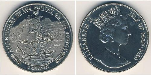 1 Krone Isle of Man Kupfer/Nickel