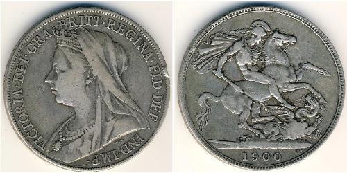 1 Krone United Kingdom Silver