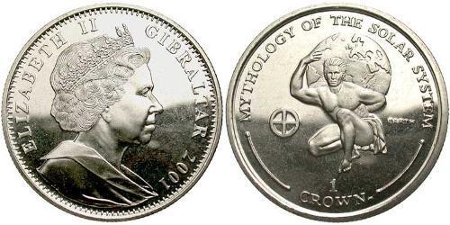 1 Krone Gibraltar