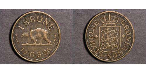 1 Krone Groenlandia