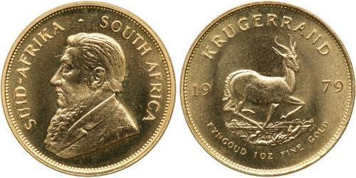 1 Krugerrand South Africa 金 保罗·克留格尔 (1825 - 1904)