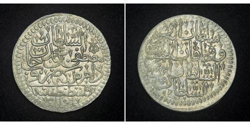 1 Kurush Ottoman Empire (1299-1923) Silver Mustafa II