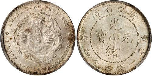 1 Mace Volksrepublik China Silber