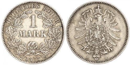 1 Mark 德意志帝國 (1871 - 1918) 銀