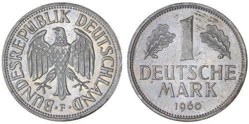 1 Mark Alemania Occidental (1949-1990) Níquel/Cobre