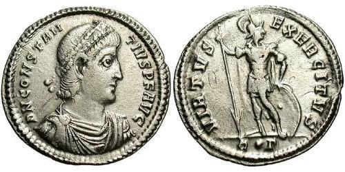 1 Miliarensis Roman Empire (27BC-395) Silver Constantius II (317 - 361)