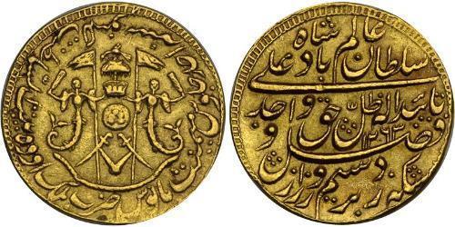1 Mohur British Empire (1497 - 1949) Gold