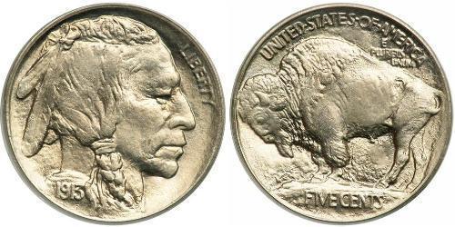 1 Nickel / 5 Cent Stati Uniti d