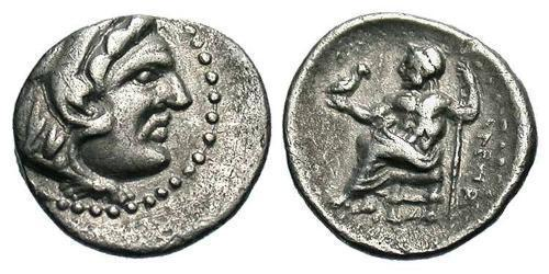 1 Obol Macedonian Kingdom (800BC-146BC) Silver Alexander III of Macedon (356BC-323BC)