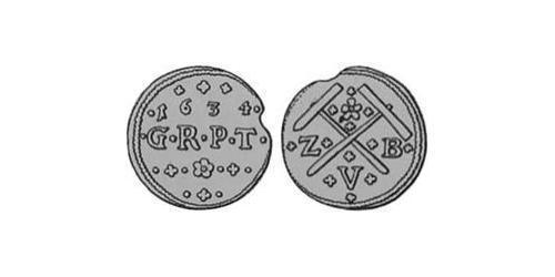1 Obol Principality of Transylvania (1571-1711) Silver