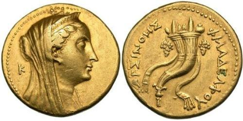 1 Oktadrachm Ptolemaic Kingdom (332BC-30BC) Gold