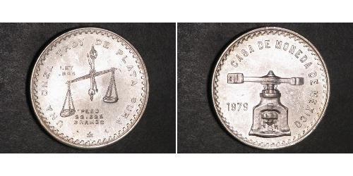 1 Onza Мексиканські Сполучені Штати (1867 - ) Срібло
