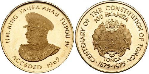 1 Paanga Tonga Gold