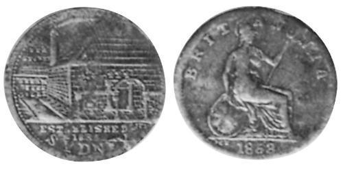 1 Penny 澳大利亚 銅