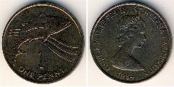 1 Penny Saint Helena (1981 - ) Bronze
