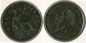 1 Penny United Kingdom (1707 - ) Bronze George V of the United Kingdom (1865-1936)